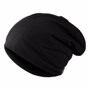 MJ Topi Kupluk Pria Wanita Beanie Hat - Hitam