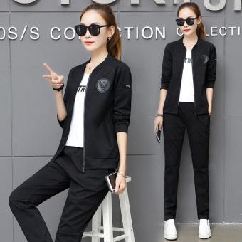Review of MM Ukuran Plus kode pakaian wanita jas (Hitam 30 lencana model) shock