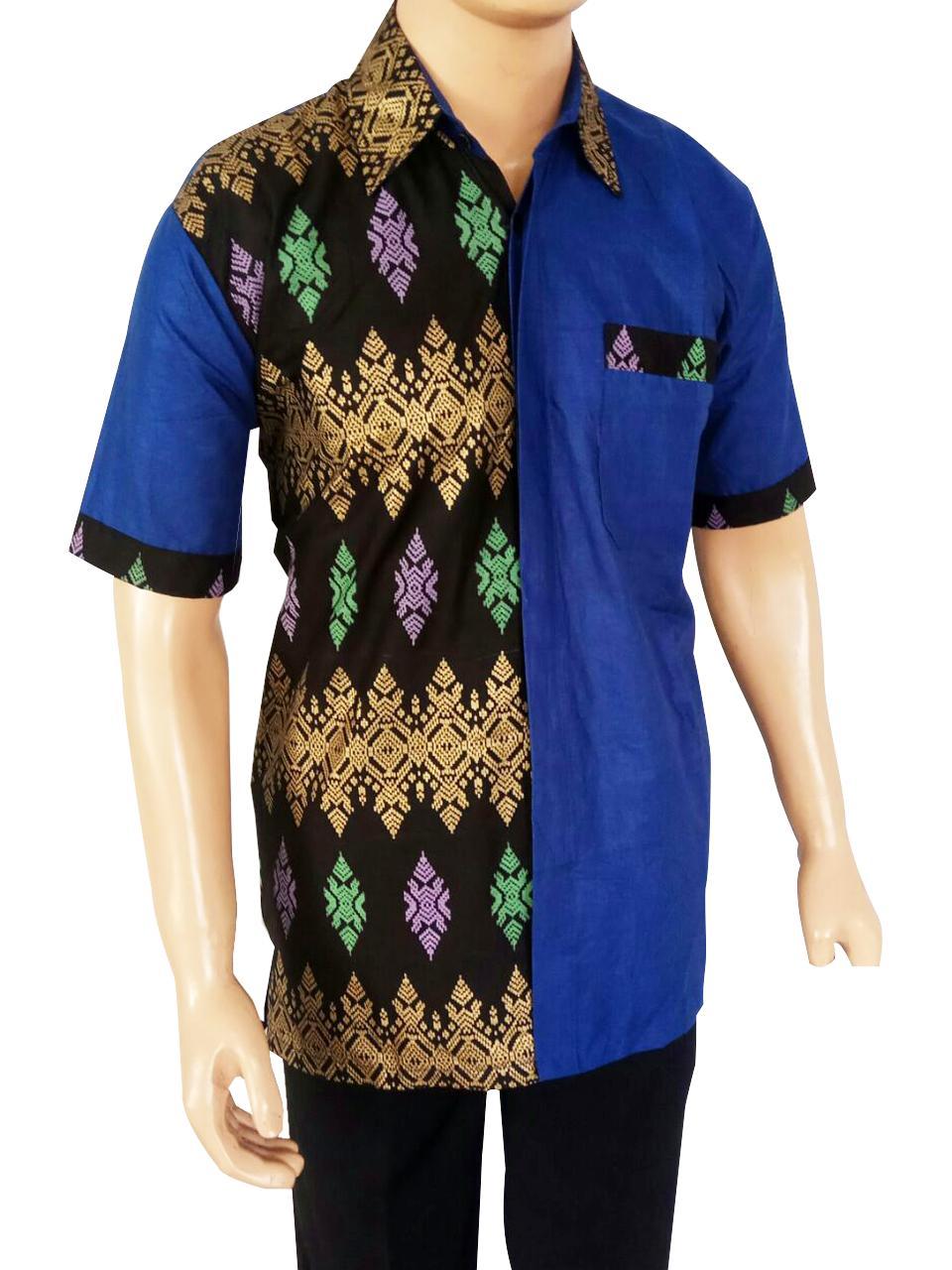 Model Baju Batik Ukuran Jumbo XXL Baju Batik Besar Kemeja Batik Size Jumbo  Motif Rang Rang d76db8f12f