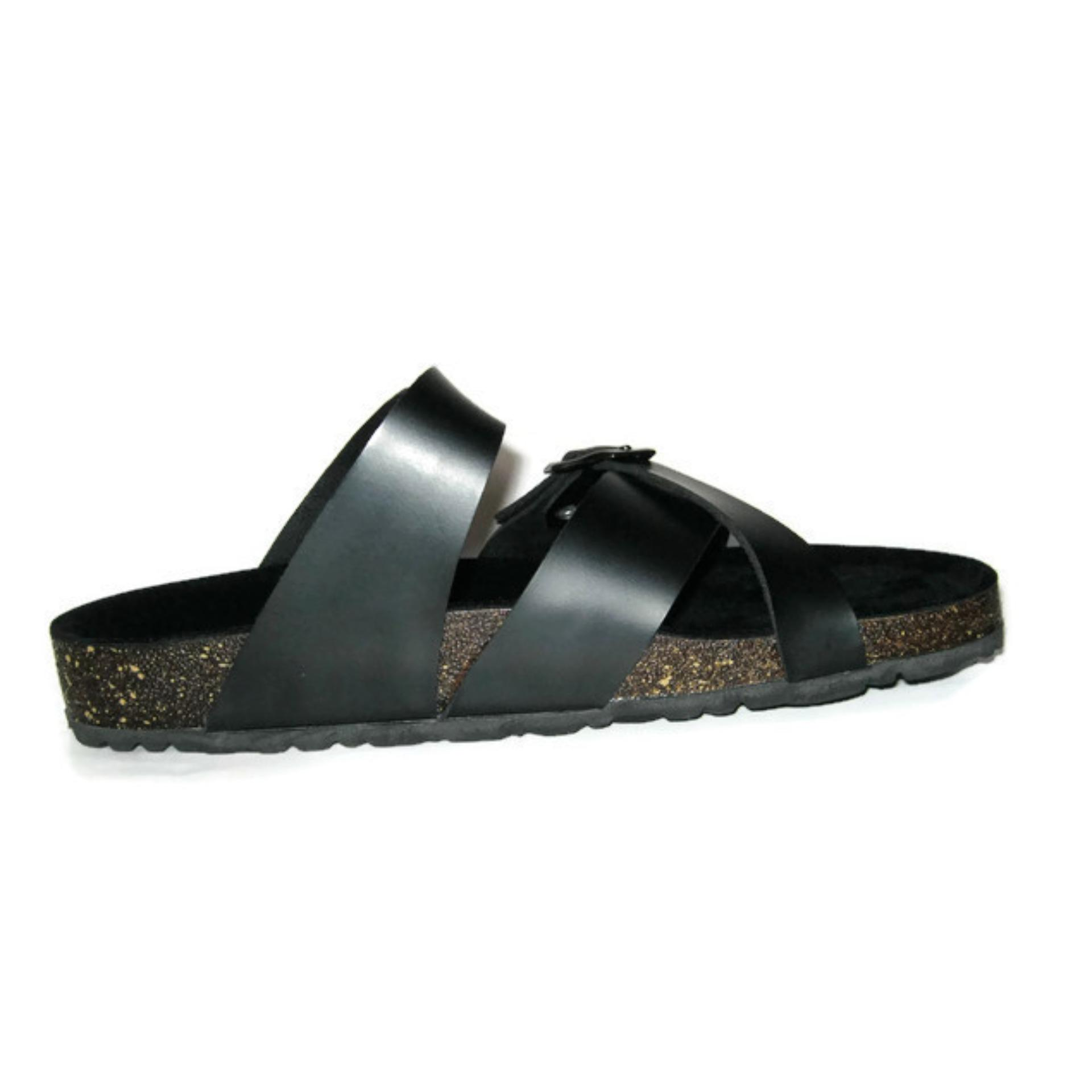 Morello Sandal Mens Hawk Black .