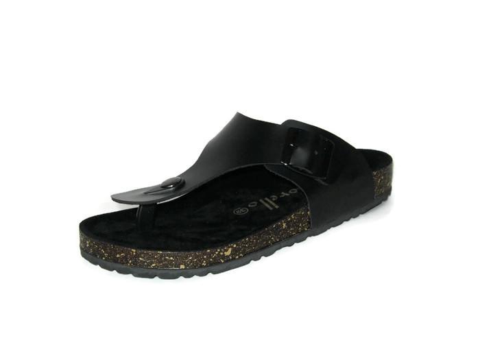 ... Morello Sandal Mens Omega Hitam ...