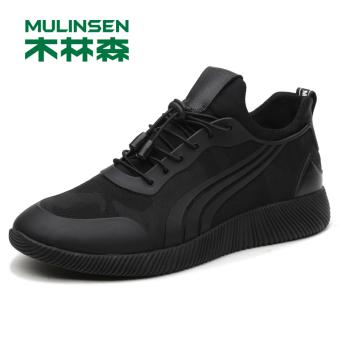 Jual MULINSEN Korea Fashion Style Musim Gugur Dan Dingin Baru Pria Olahraga  Sepatu Sepatu Pria (Yu Yue 270111 hitam) Terpercaya 10c37977cd