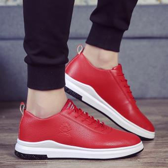 Beli Musim Dingin Baru Sepatu Kets Putih Sepatu Pria (G33 merah) Online f0fdb517f7