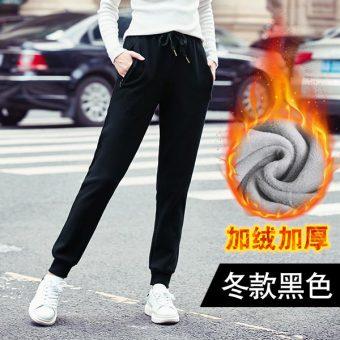 Beli Musim Gugur Dan Musim Dingin Korea Fashion Style Tambah Beludru Siswa Celana Olahraga Lebih Tebal Olahraga Celana (Model musim dingin ditambah beludru ...