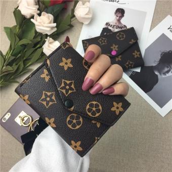 Nama Besar Shishang perempuan dari pengait dompet wanita wallet (Hitam)