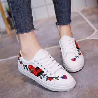 Nana Blanche Belinda Sepatu Sneakers Wanita - 918 White