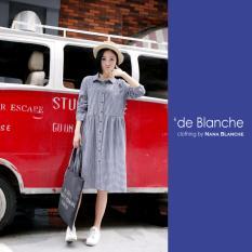 Nana Blanche Filo Dress/Tunik Wanita - 922 Navy