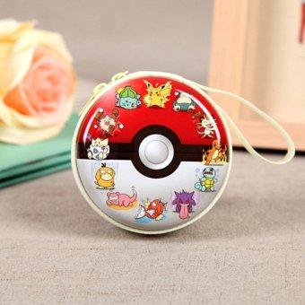New Four Pokemon Go Pikachu Mix Children Purses Bags Zero Headset Package - intl