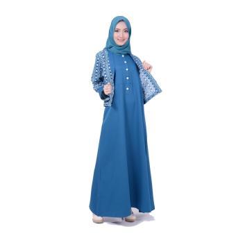 Nibras Gamis Baju Muslim Nb 147 Merah Bata Daftar Harga Barang Source · Gamis Nibras NB