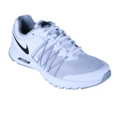 Nike Womens Air Relentless 6 Sepatu Lari - White/Black-Wolf Grey