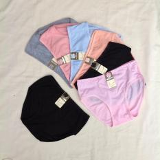 NiSha - 6 pcs Celana Dalam Wanita - Size L, XL, XXL - Warna Seri