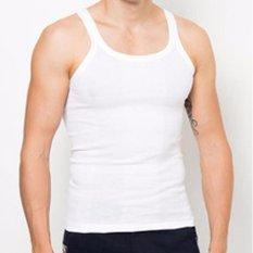 Nitro - 3 Pcs Kaos Dalam Pria - Singlet - Size 38, 40, 42