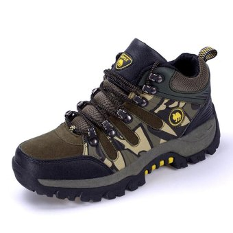 Non-slip Outdoor Hiking Shoes, Men's Breathable Outdoor Sports Shoes - intl