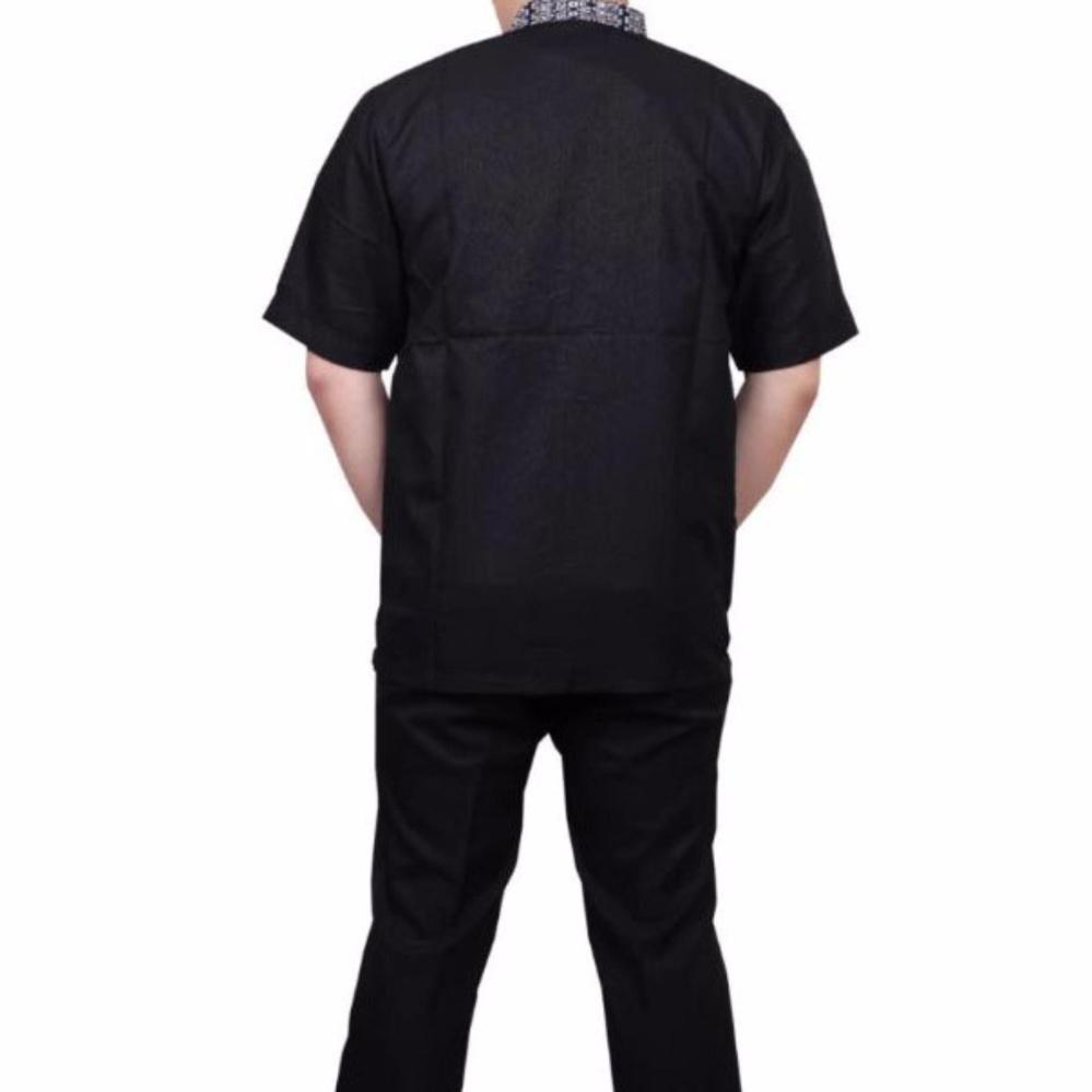 Baju Batik Pria Eksklusif Kemeja Lengan Pendek Modern Motif Kotak Flanel Model Slimfit Code Madox Navy Xl Ormano Koko Muslim Bordir Lebaran Hari Raya Pengajian Zo17 Kk86 Fashion