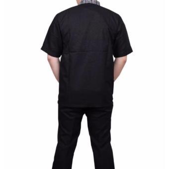 Ormano Baju Koko Muslim Batik Lengan Panjang Lebaran Hari Raya Pengajian ZO17 KK91 .