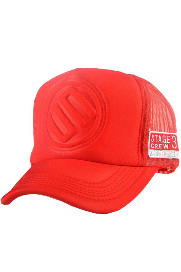 ... Ormano Topi Baseball Snapback Hip Hop Korean Style Letter S Cap -Merah  ... be8315a8ac