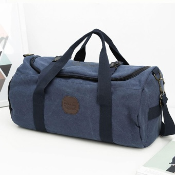 Oversized Canvas Travel Duffel Bag Big Capacity Luggage CaseWeekend Bag,28L - intl