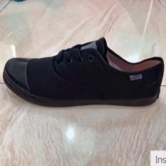 PADIE - Sepatu Sneakers CAPOEIRA BLACK by ARDILES /sepatu casual/santai/sekolah/kerja/kanvas