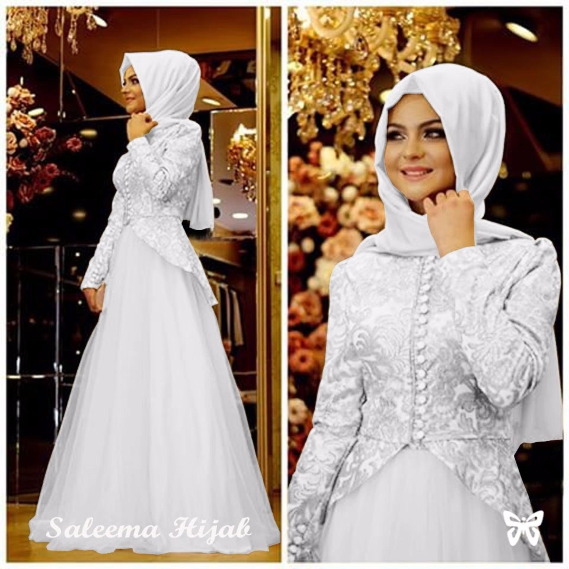 Flavia Store Polo Shirt Dress Lengan Pendek FS0396 - ABU-ABU / Gaun Kaos Wanita. Source · Pakaian Muslimah Wanita Fashionable - Gamis Salema