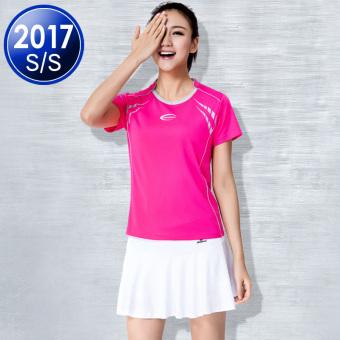Jual Pakaian tenis meja untuk pria dan wanita beberapa model I pakaian bulu  tangkis pakaian (Perempuan 13408 Mei + 13602 putih) Terpercaya 242d71b362