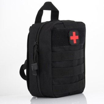 PAlight Outdoor Tactical First Aid Bag Nylon Medical Military Utility Pouch Rescue Package - intl