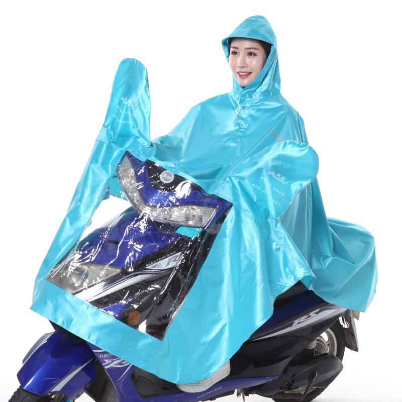 Flash Sale Paradise ganda tunggal jas hujan (Sky Blue [tunggal bagian tebal ])