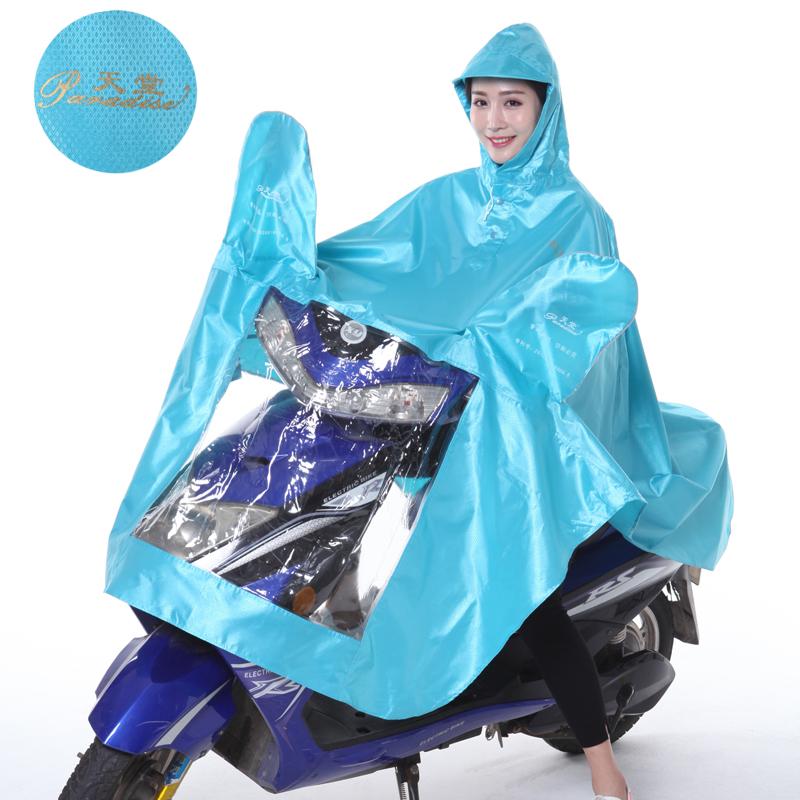 Flash Sale Paradise Yeguang jenis Ukuran Plus penebalan Oxford kain pria dan wanita ponco jas hujan