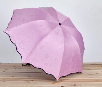 Payung Ajaib 3D / 3dimensi / 3 dimensi - AJAIB - muncul motif jika basah -