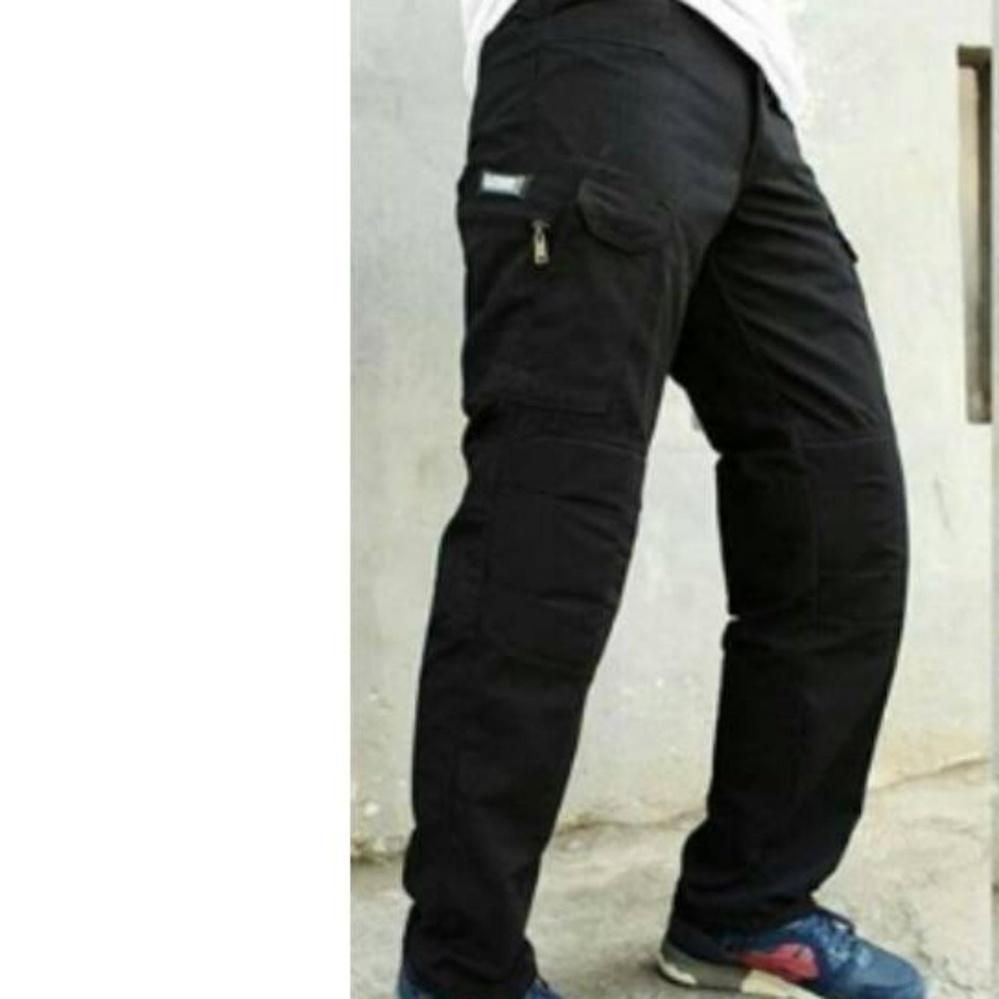 PBS CELANA TACTICAL BLACKHAWK CARGO PRIA - BLACK[HITAM] .