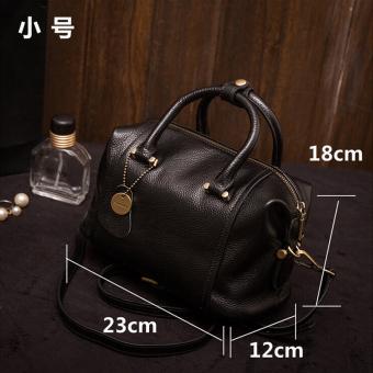 Perempuan baru Korea Fashion Style tas wanita tas (Hitam terompet)