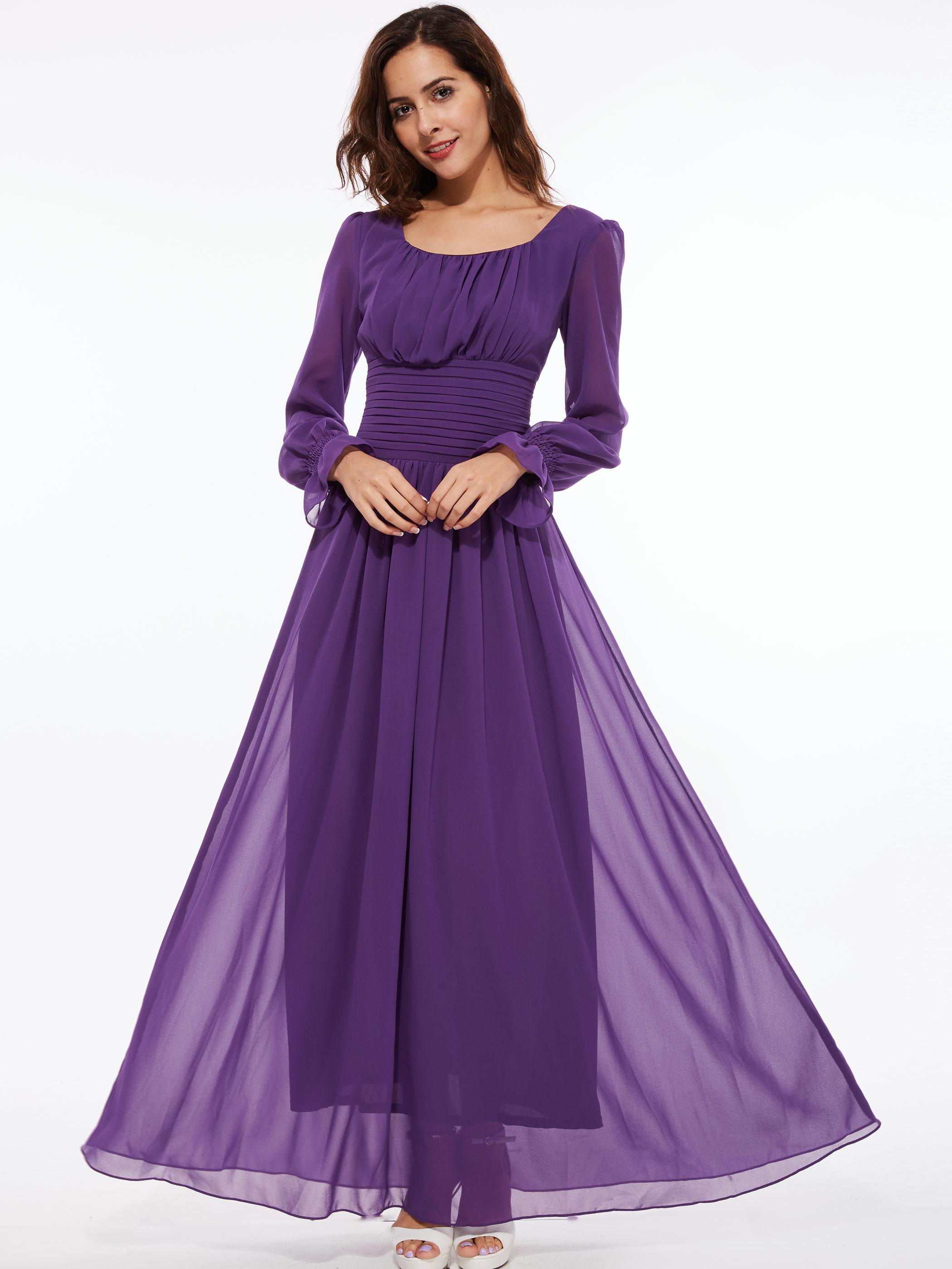 Perbandingan harga Perempuan Purple lipit Atmosphere Tunic gaun ... 44069e41fc