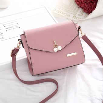 Persegi kecil Korea Fashion Style musim gugur baru wanita bahu utusan tas tas wanita (Bubuk
