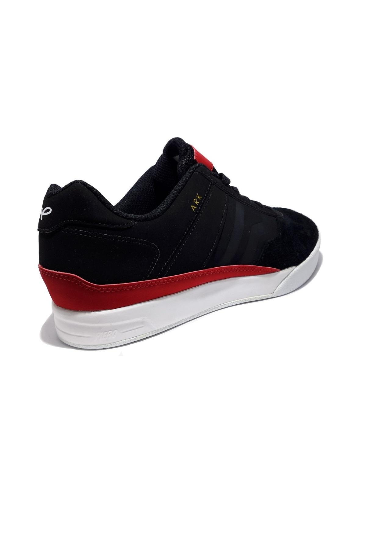 Hot Deals Piero Nador Sepatu Skate Hitam Merah Harga Termurah Sneakers Eva Trainer Dark Pack