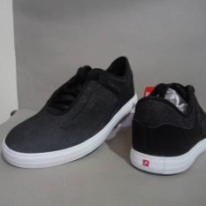Piero Sepatu Sneakers Dakota - Black White
