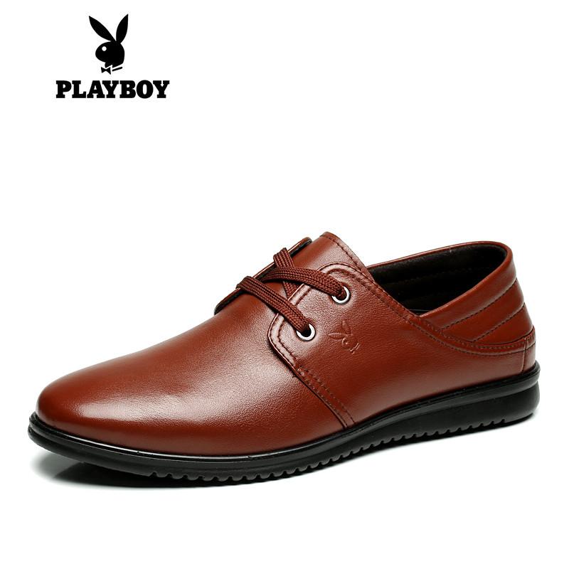 Flash Sale PLAYBOY Inggris kulit musim gugur yang lembut dan sepatu santai 33f87d6d42