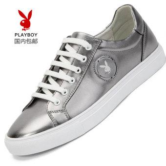 PLAYBOY Korea Fashion Style laki-laki BayMini sepatu sepatu pria (Model laki-laki + Yang normal sepatu sneaker 41 yard 41 yard ayat ini untuk menembak 40 yard)