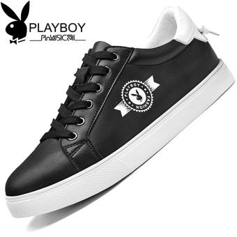 Beli PLAYBOY Korea kulit pria baru sepatu pria sepatu (Hitam) Murah ... 478529a833