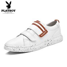 PLAYBOY musim gugur baru set kaki kasual sepatu sepatu musim gugur sepatu pria (Putih)