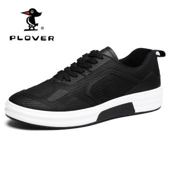 Beli Plover Korea Fashion Style Laki-laki Hangat Sepatu Pria Kebugaran Sepatu Kasual (A17239 hitam) Terpercaya