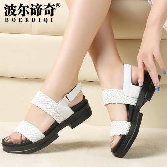 Fashion wanita pakaian luar kata sandal sandal (Kuning). Source · Harga  Penawaran Pol c9f1c535da