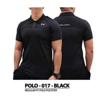 Polo Shirt Und*r A*mour Golf Training Gym - 017 Black