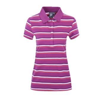Potter kasual kapas perempuan musim panas t-shirt kemeja POLO (-1 violet)