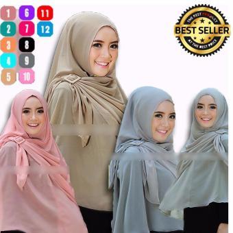 Premium Hijab Impor Syari Turki Gesper Jilbab Instan Jilbab Instant - Toko Berkah Online. >>>>