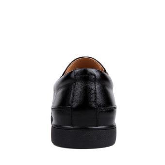 Pria Kulit Asli Sepatu kasual Sepatu Nyaman Mengemudi Sepatu BisnisKerja  Sepatu Men Genuine . a6b8c1e7a3