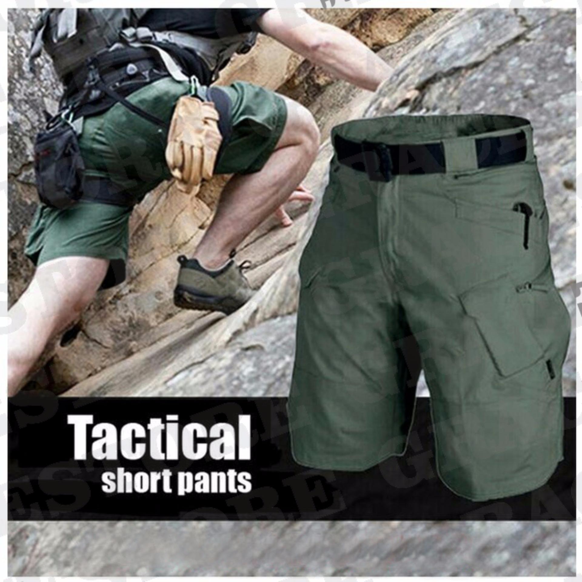 ... Celana Pendek Cargo Tactical Outdoor Blackhawk Warna Hijau Army