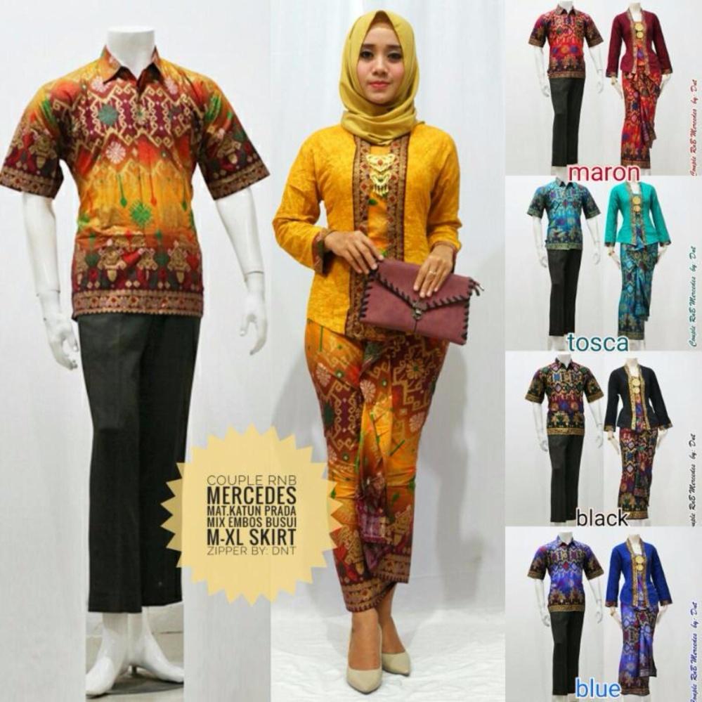 Pencarian Termurah Promosi Baju Couple Batik Kebaya Modern Mercedes Murah