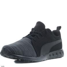Puma sepatu Sneaker Running Carson Runner Knit EEA - 18960805 - Hitam