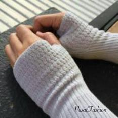 PusatFashion Handsock Finger / Manset Finger Rajut Premium