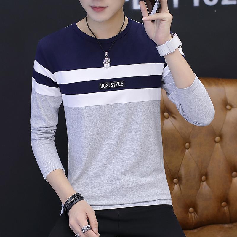 Qiudong Korea Fashion Style baru Slim muda pakaian dalam termal t-shirt  (531 abu f0856d8643