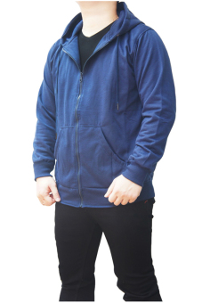 Quincy Jacket Zipper Hoodie Man - Navy - 3